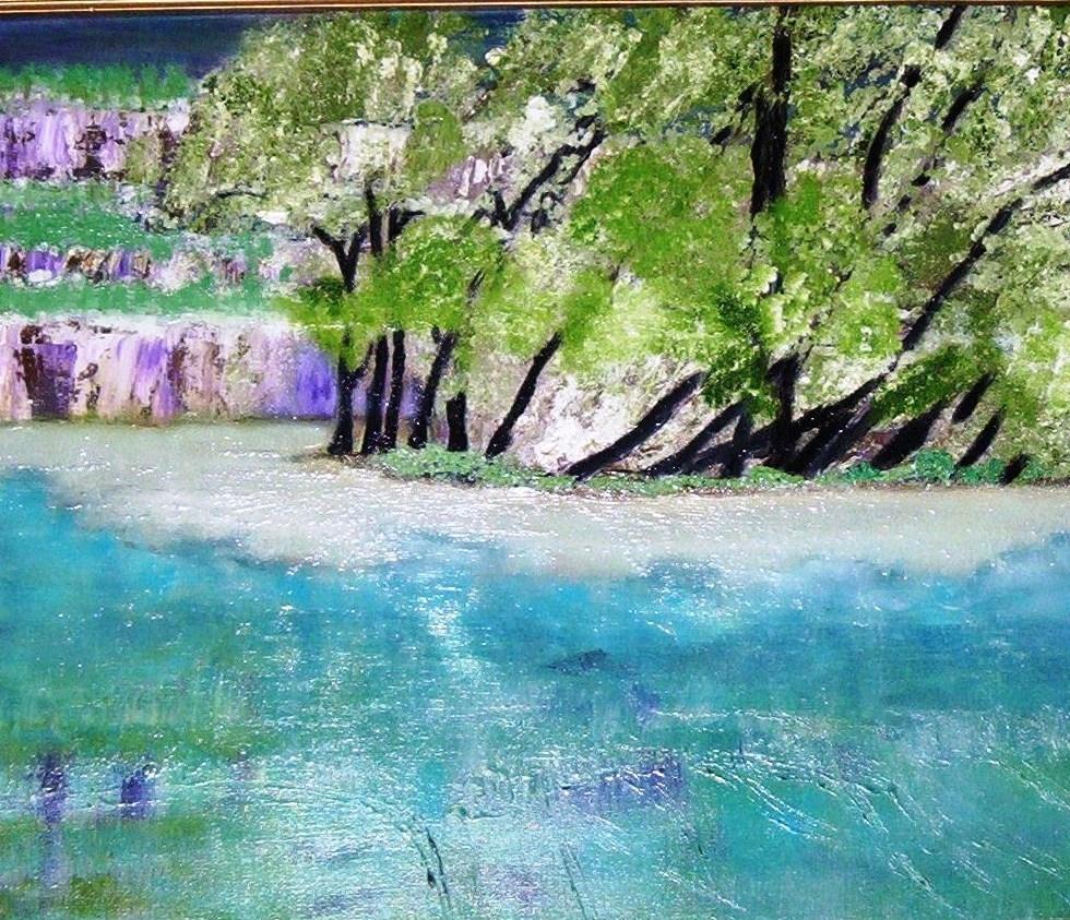 """THE BEACH - Oil on Canvas 16x20"""""""