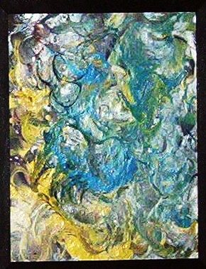 Abstract Oil on Canvas 16x20
