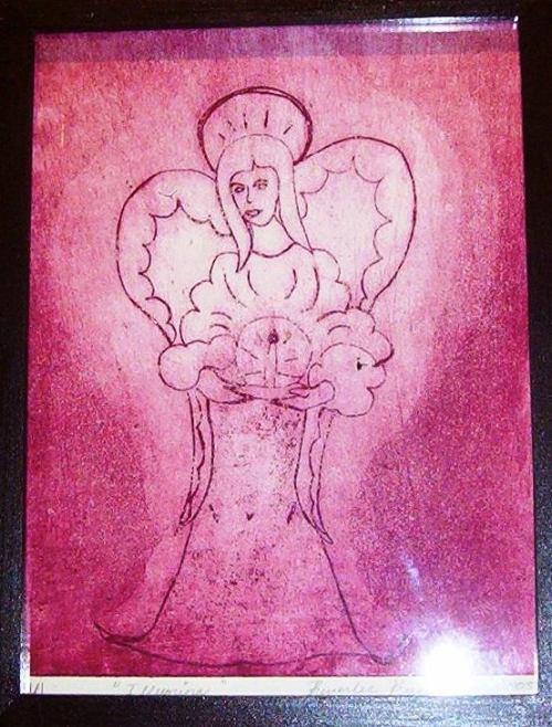 Fuschia Angel - Print - 8 x 12
