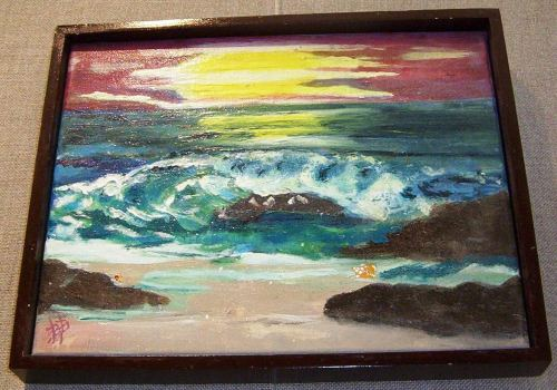 Ocean Waves - Oil on Canvas - 12 x 18 - SOLD