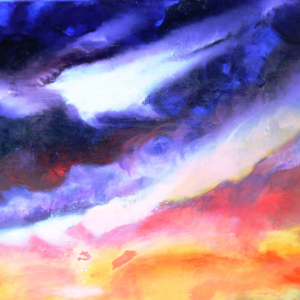 Kingston Sunset - Oil on Canvas - 16x20- $200